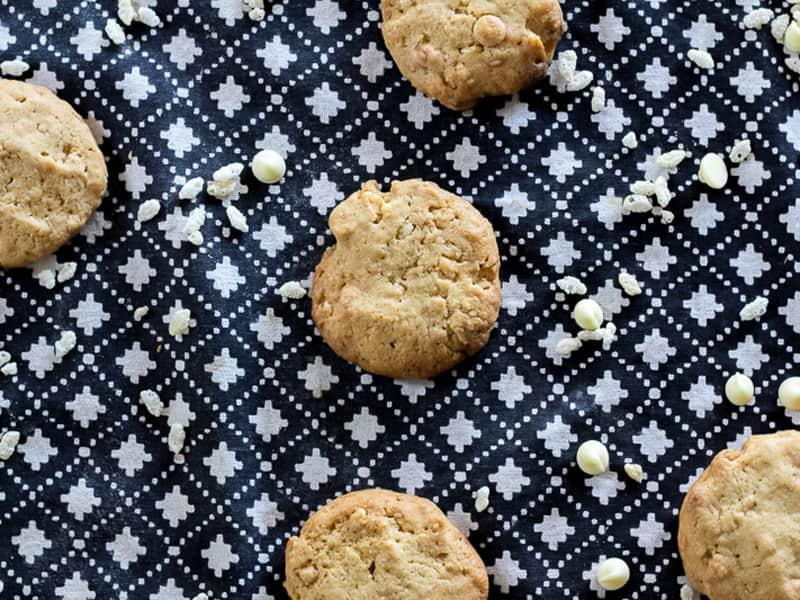 Choc-chip, oat and zucchini biscuits #cookies #zucchini