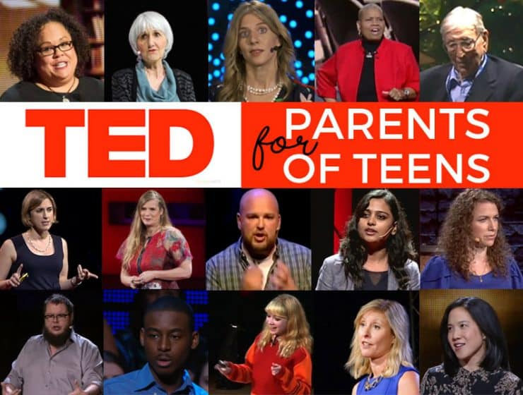 TED Talks for parenting teens #tedtalks #parentingteens #parenting