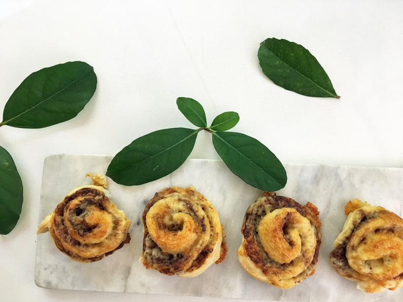 Cheesymite scrolls - Vegemite and cheese scrolls for the lunchbox