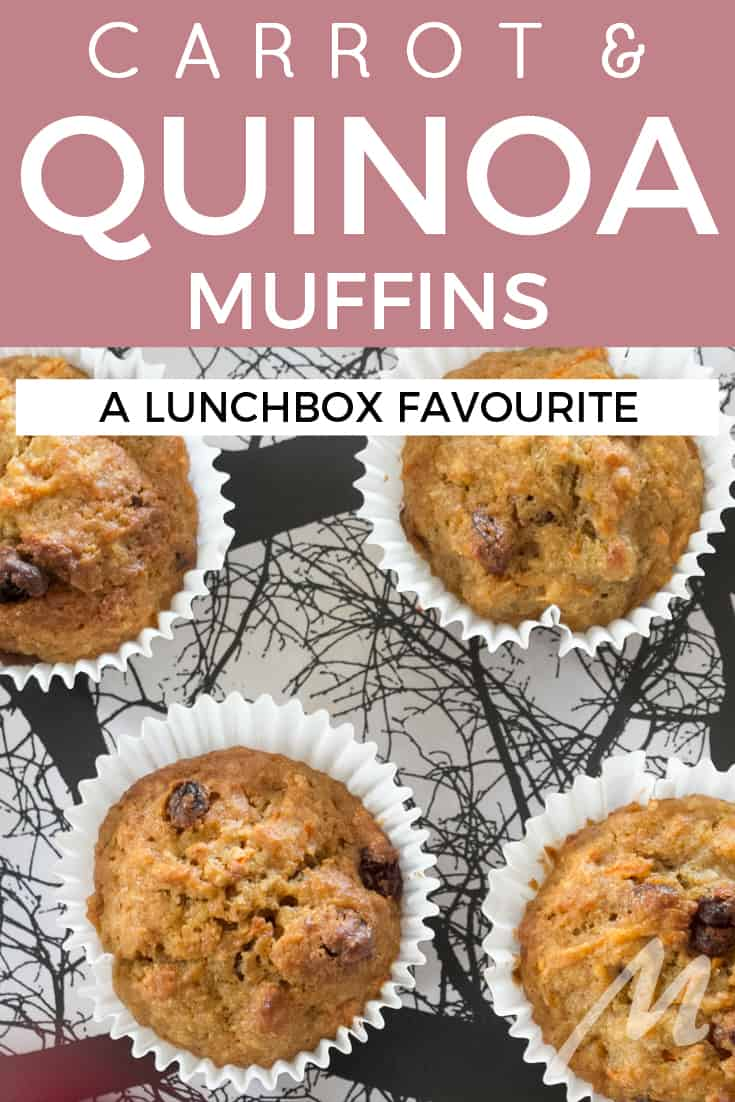 Carrot and quinoa muffins recipe #recipe #muffins #quinoa