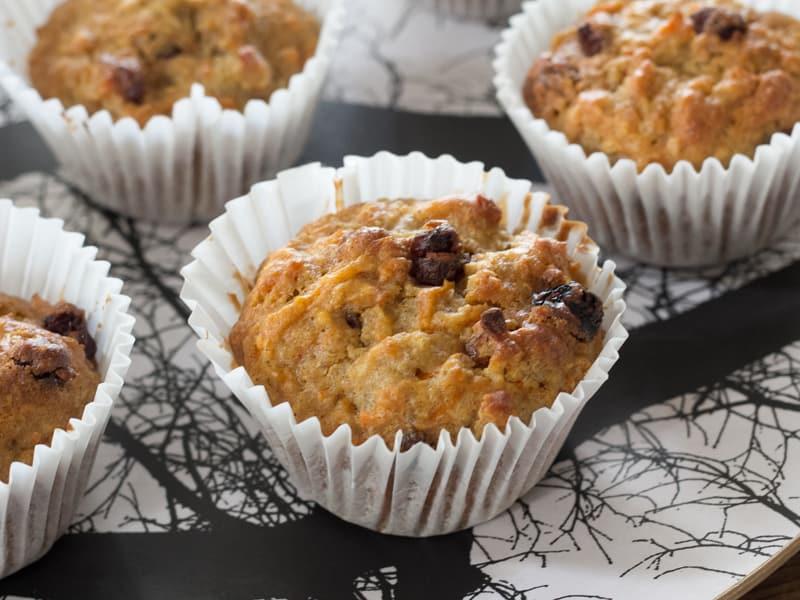 Carrot and quinoa muffins recipe #recipe #muffins #quinoa