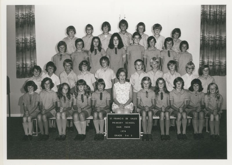Francis De Sales Primary School 1974 Year 5-6