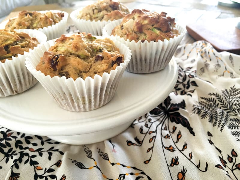 Pear and zucchini muffins - so good for lunch boxes