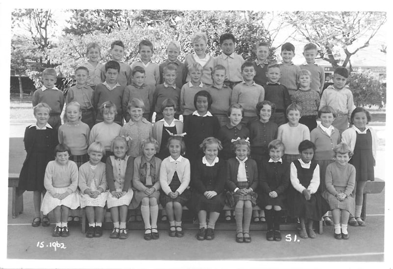 School photos - 1962