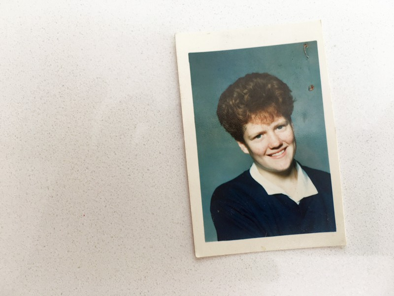 School photos - me in Year 8