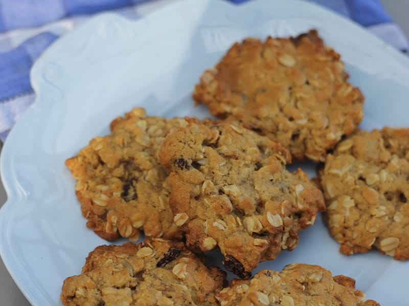 Muesli cookies - an easy recipe for a satisfying biscuit