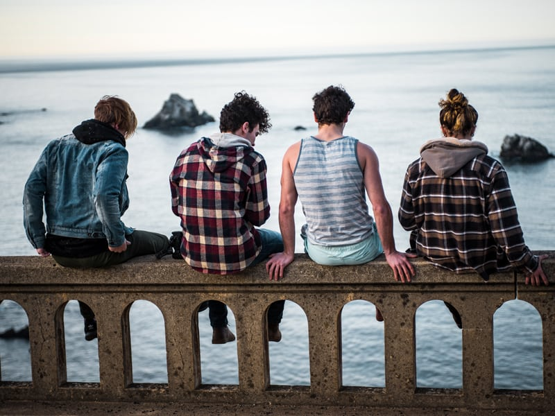 A simple way to think about friendships