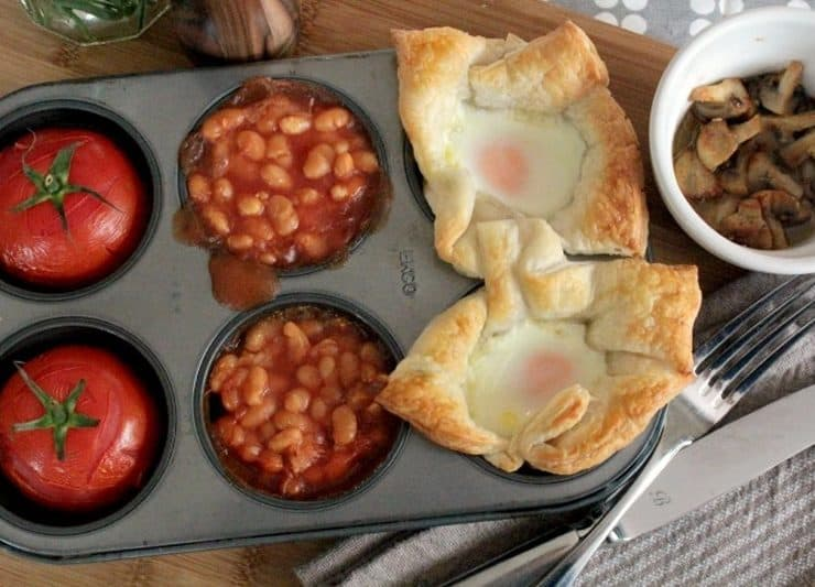 Baked Sunday breakfast - this recipe is too easy