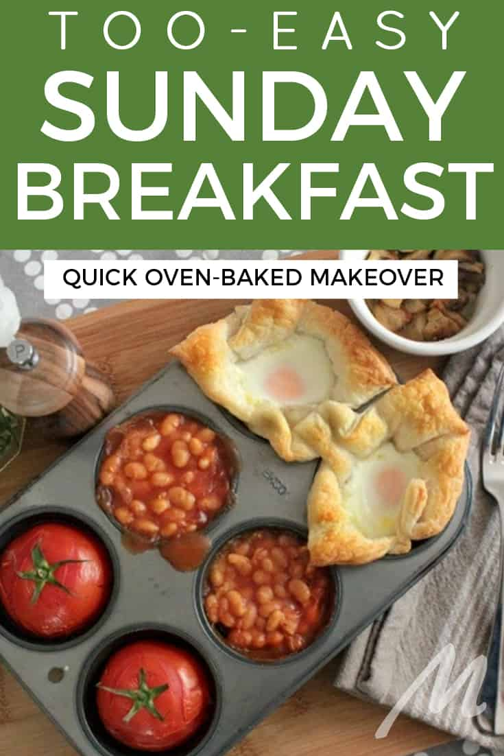 Too easy Sunday breakfast - bake it in the oven