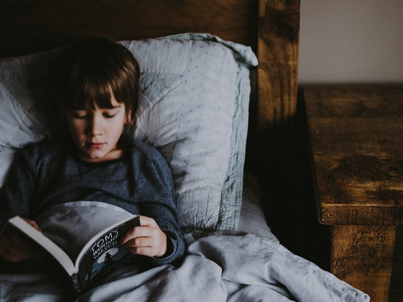 How to keep older kids reading - develop a routine