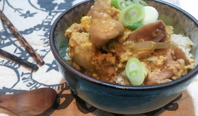 Oyakodon - soon to become a midweek staple at your place too