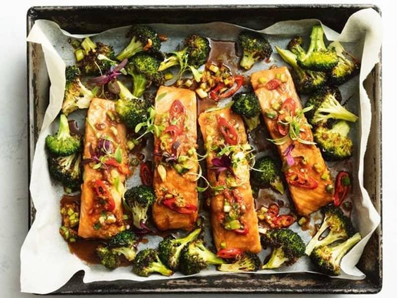 Tray Bakes: Salmon