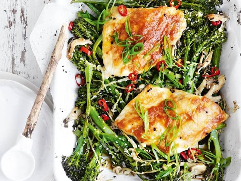 Tray bakes to save you time: Snapper