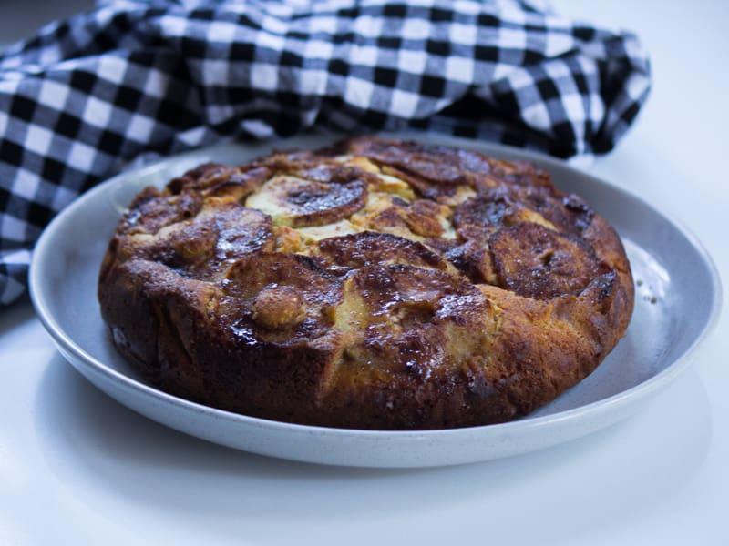 Delightful caramel apple teacake