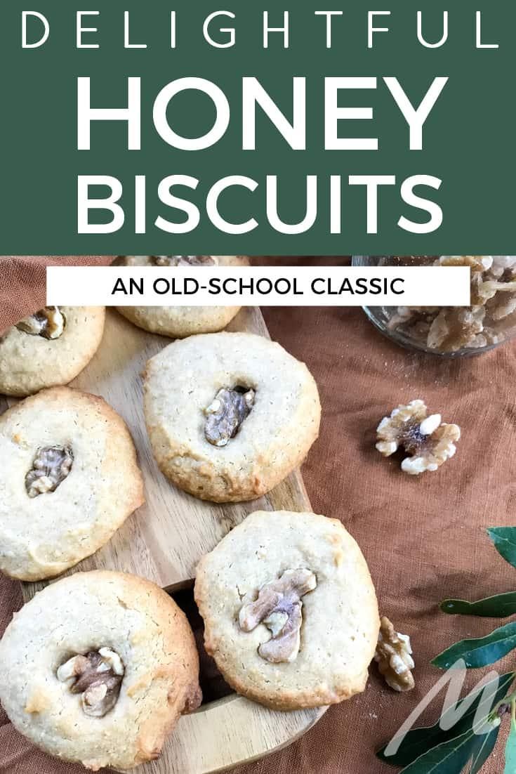 Delightful honey biscuits recipe