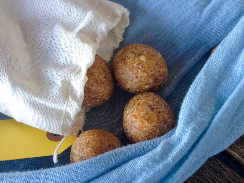 Apricot bliss balls - great for the lunchbox