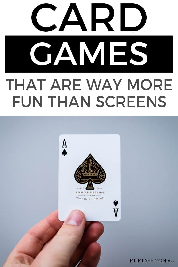 Card games that are way more fun than screens