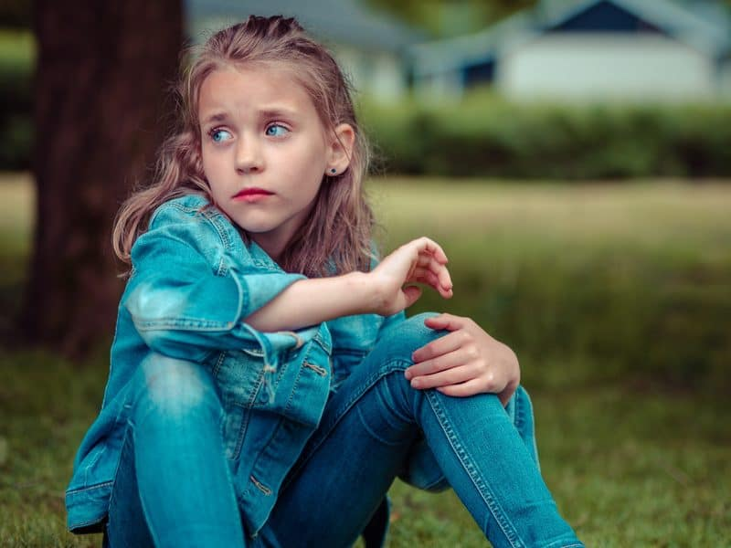 My daughter has no friends and it's like a stigma