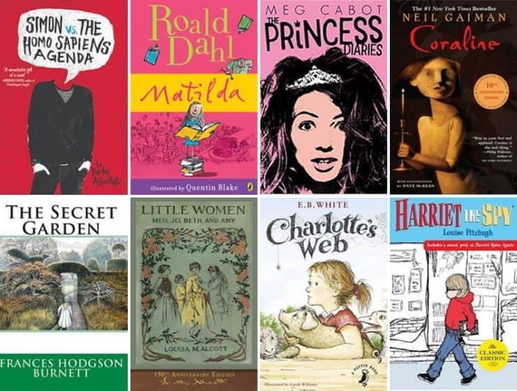 21 movies based on kids' books