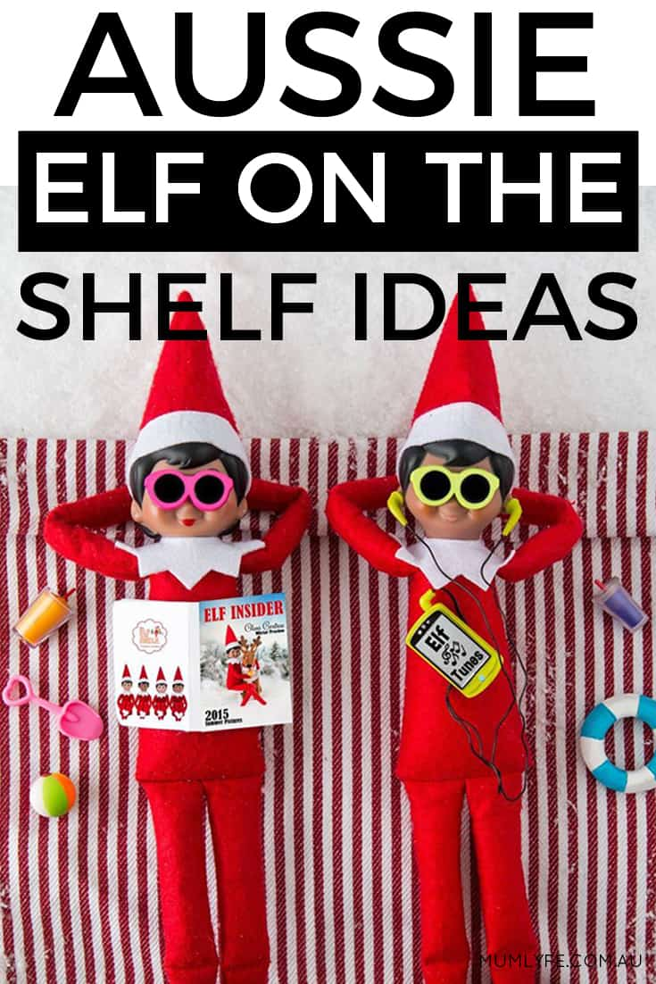 Aussie Elf on the Shelf ideas - inject a little summer magic into your elf shenanigans
