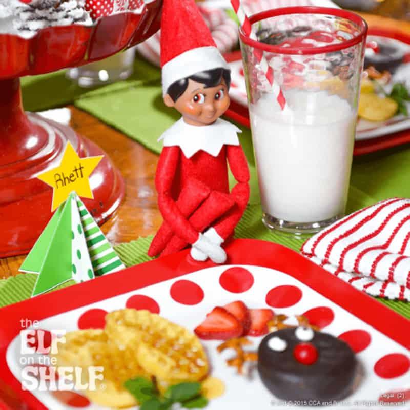 Aussie Elf on the shelf ideas - breakfast