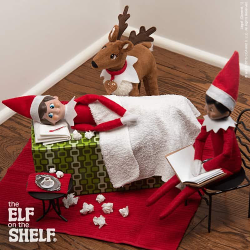 Aussie Elf on the shelf ideas - sickie