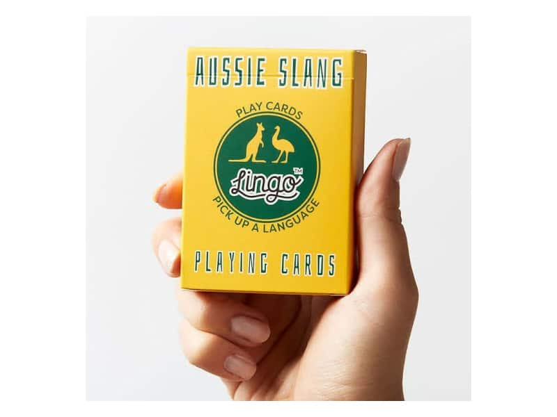 Gifts for teenagers - Aussie Slang Lingo Cards