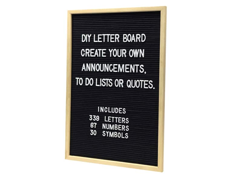 Awesome gifts for teens: Letterboard