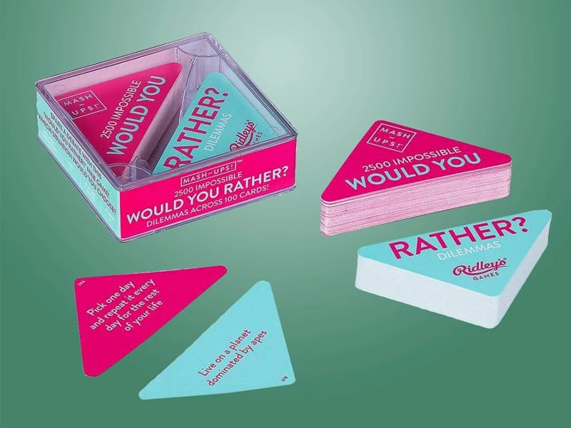 Would you rather - gifts for teens