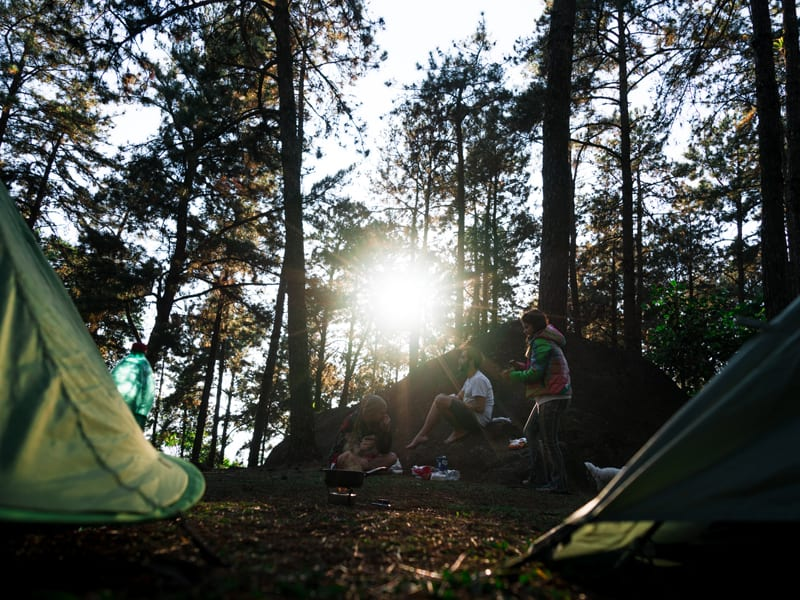 Great ways to have fun with friends - camping