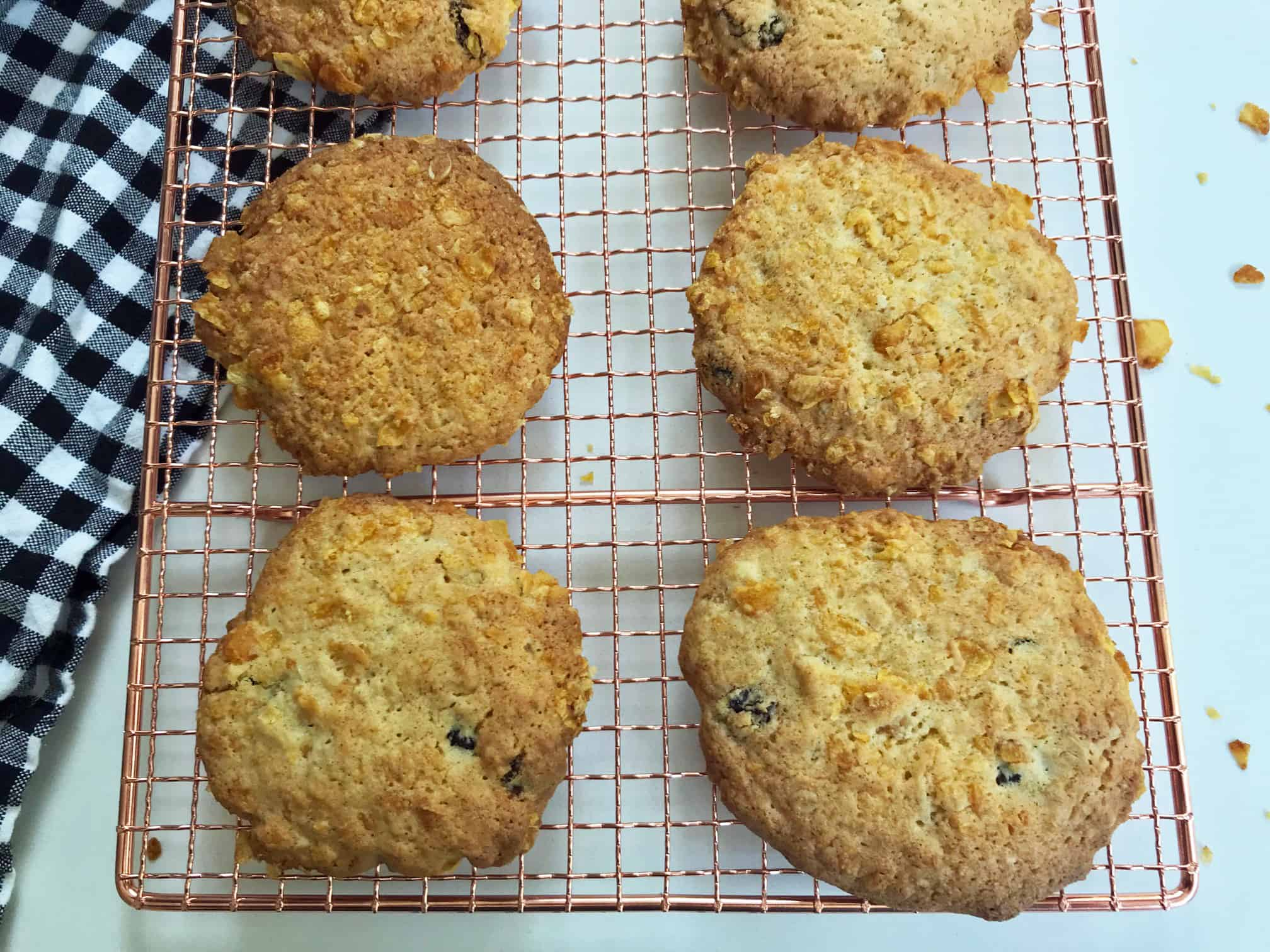 Cornflake cookies are fabulous to munch on