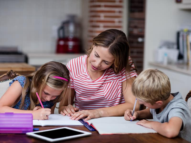 How to help kids with homework (without doing it for them)
