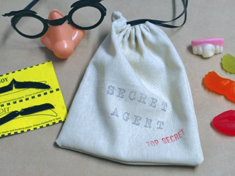 How to make a drawstring bag - great for party favours